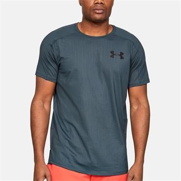 Under Armour Mens Emboss T-Shirt - Navy