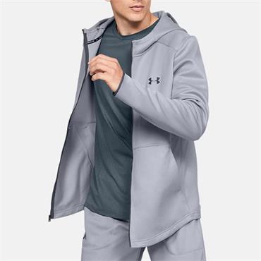 Under Armour Mens Full Zip Hoodie - Grey