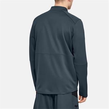 Under Armour Mens Warm Up Full Zip Jacket - Grey