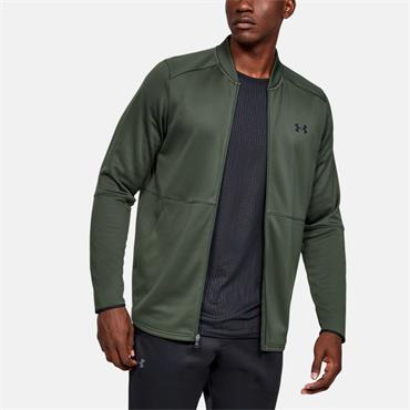 Under Armour Mens Warm Up Bomber Jacket - Green