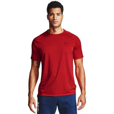 Under Armour Mens Tech 2.0 SS T-Shirt - Red