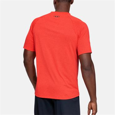 Under Armour Mens Tech Short Sleeve T-Shirt - Red