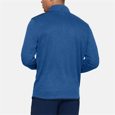 Under Armour Mens UA Sweater Fleece Half Zip - Blue