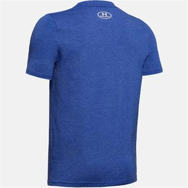 Under Armour Boys Charged Cotton T-Shirt - Blue