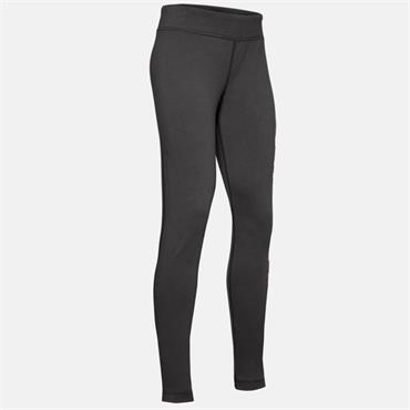 Under Armour Girls Sportstyle Branded Leggings - Grey