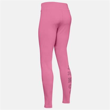 Under Armour Girls Leggings - Pink