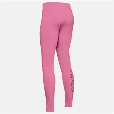 Under Armour Girls Leggings - Pink