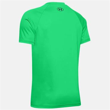 Under Armour Boys Tech Big Logo T-Shirt - Green