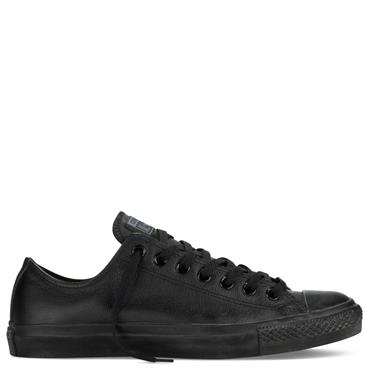 Converse Chuck Taylor All Star Mono Leather Runners - Black