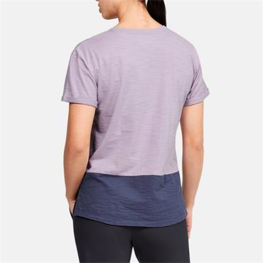 Under Armour Womens Charged Cotton T-Shirt - Purple