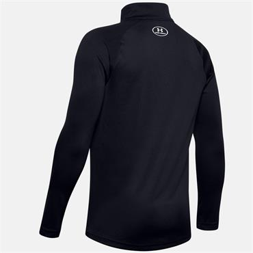 Under Armour Boys Tech 2.0 Half Zip Top - BLACK