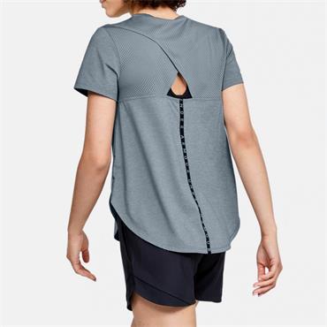 Under Armour Womens Sport Crossback T-Shirt - Teal