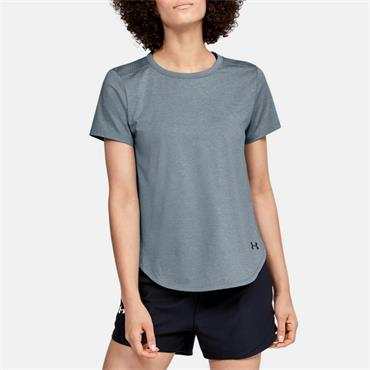 Under Armour Womens Sport Crossback T-Shirt - Teal