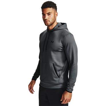 Under Armour Mens Fleece Hoodie - Grey