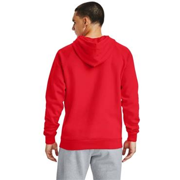 Under Armour Mens Rival Fleece Hoodie - Red