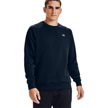 Under Armour Mens Rival Fleece Crew Sweater - Navy