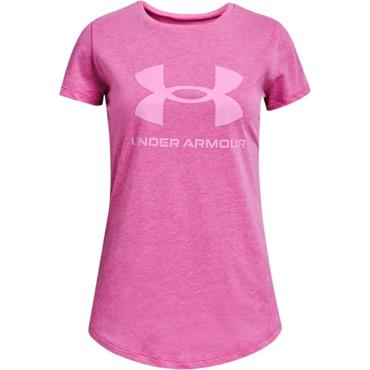 Under Armour Girls Graphic T-Shirt - Pink
