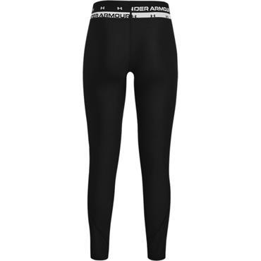 Under Armour Girls Heat Gear Leggings - BLACK