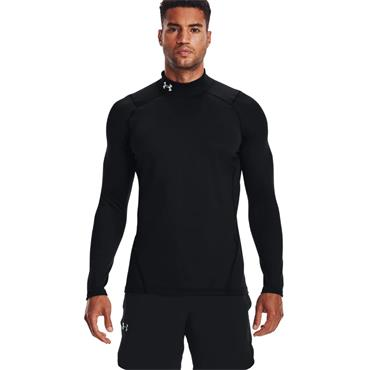 Under Armour Cold Gear Fitted Baselayer - BLACK