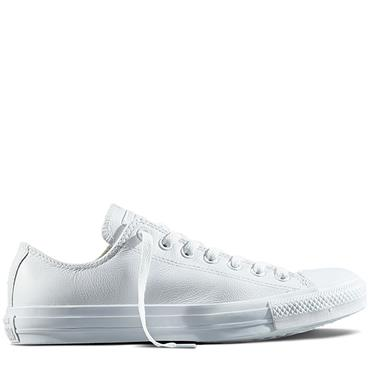 CHUCK TAYLOR ALL STAR MONO LEATHER - WHITE
