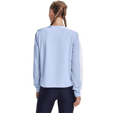 Under Armour Womens Rival Terry Crew - BLUE
