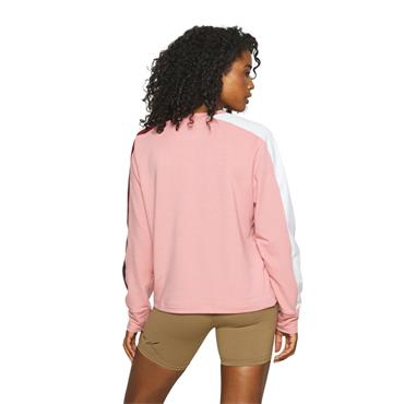 Under Armour Womens Rival Terry Crew Sweater - Pink