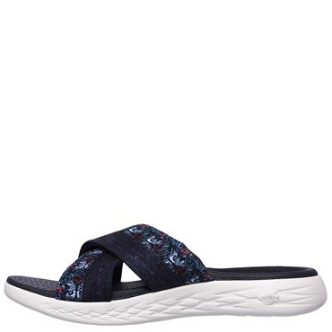 Skechers Womens On The Go Sandals - Navy