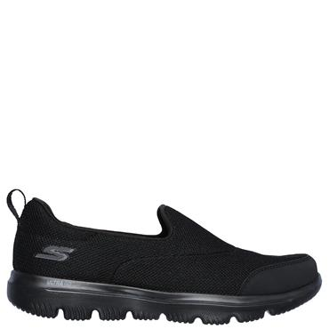 Skechers Womens Go Walk Evolution Runners - BLACK