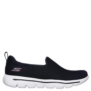 Skechers Womens Go Walk Evolution Runners - Navy/White