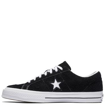 Converse Adults One Star Premier Suede Runners - Black/White