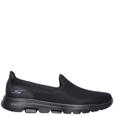 Skechers Womens Go Walk 5 Trainers - BLACK