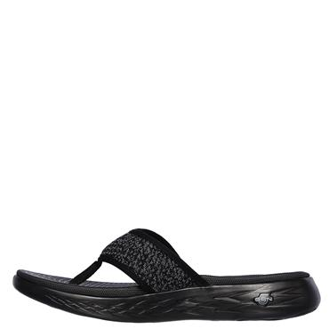 Skechers Womens On The Go Sandals - BLACK