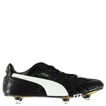PUMA Adults King Pro SG Football Boots - Black