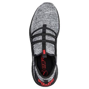 PUMA Mens Mega NGRY Knit Runners - BLACK