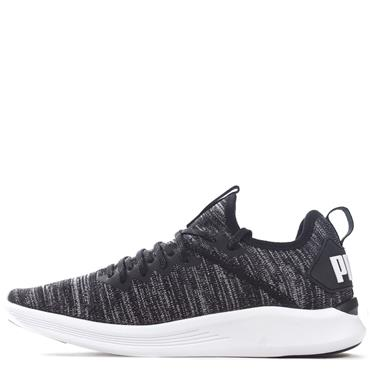 PUMA Mens Ignite Flash Evoknit Trainers - BLACK