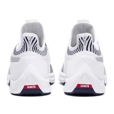 PUMA Womens AMP XT Runners - White/Navy