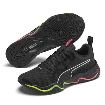 PUMA Womens Zone XT Trainers - BLACK