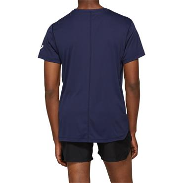 Asics Mens Logo T-Shirt - Navy