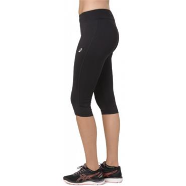 Asics Womens Silver Knee Tights - BLACK