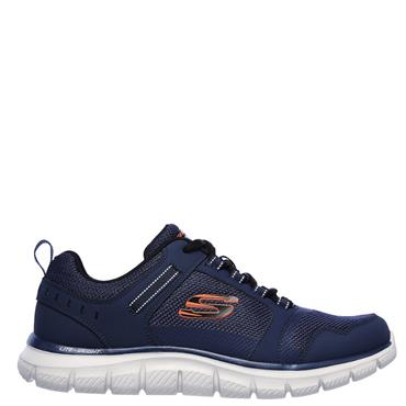 Skechers Mens Track Knockhill Trainers - Navy