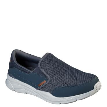 Skechers Mens Equalizer Slip On Trainers - Grey