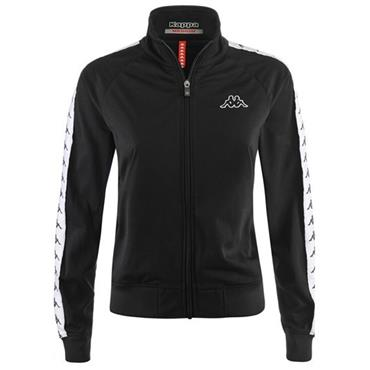 KAPPA Adults Wanniston Slim Banda Jacket - Black/White