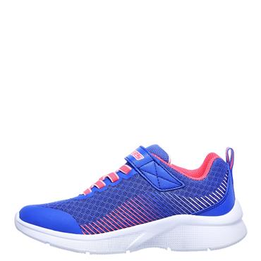 Skechers Girls Microspec Trainers - Blue