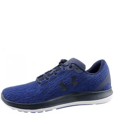 UNDER ARMOUR MENS REMIX RUNNING SHOES - BLUE