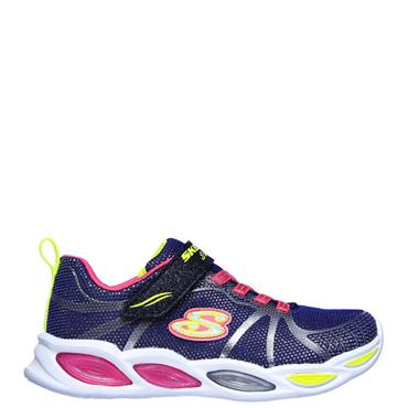 Skechers Girls Shimmer Beams Sporty Glow Trainers - Multi