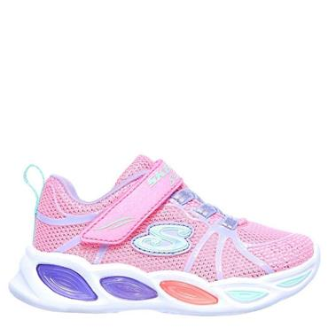 Skechers Infants Lights Shimmer Beams Trainers - Pink
