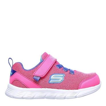 Skechers Girls Comfy Flex Moving on Trainers - Pink