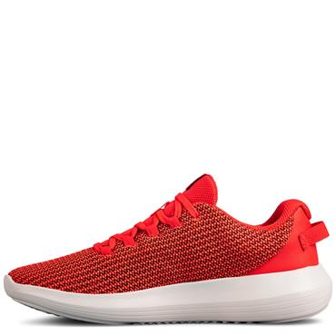UNDER ARMOUR WOMENS RIPPLE TRAINER - RED/WHITE