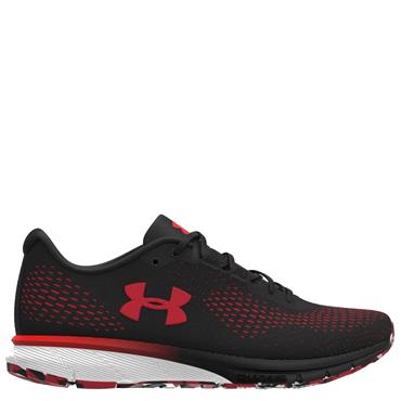 UNDER ARMOUR MENS CHARGED SPARK TRAINER - BLACK/RED