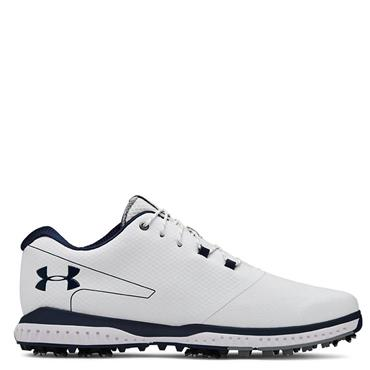 Under Armour Mens Fade RST 2 Golf Shoes - White/Navy